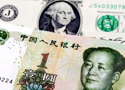 ЦБ рекордно вложился в юань и проиграл $2,2 млрд резервов