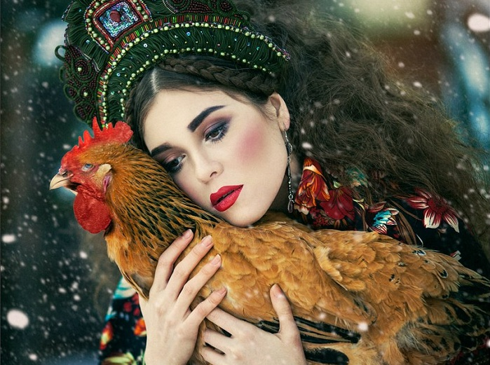 """Необычайно красивые портреты в стиле """"фэнтези"""" от российской фотохудожницы"""
