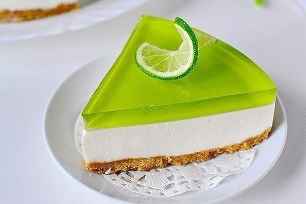 Желейный торт