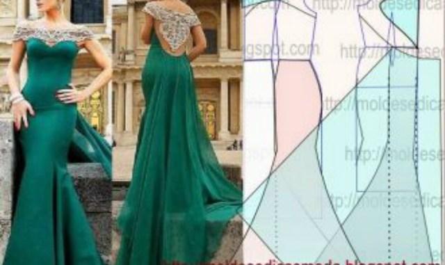 Шикарные вечерние платья своими руками: 15 моделей с выкройками