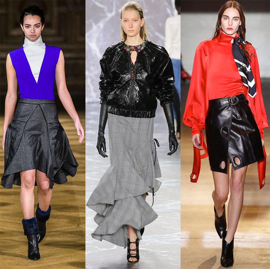 Модные юбки 2018-2019 года