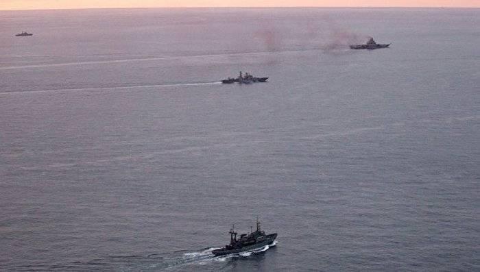 Корабли Северного флота вышли в море Лаптевых