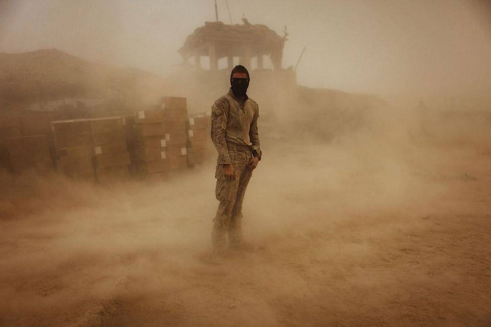 Буря в провинции Гильменд на юге Афганистана
