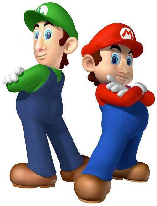 14. Марио и Луиджи с человеческими носами в интернете, неожиданно, непонятно, подборка, странно, странные фото, фото
