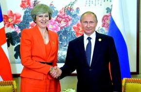 Мэй угрожает Европе Путиным …