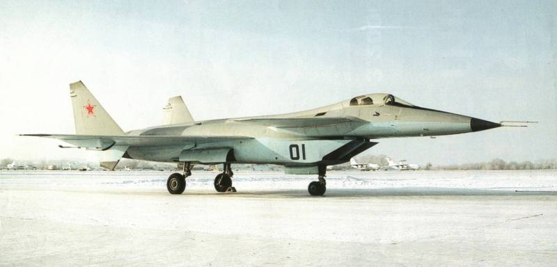Экспериментальному истребителю пятого поколения МиГ 1.44 исполнилось 20 лет