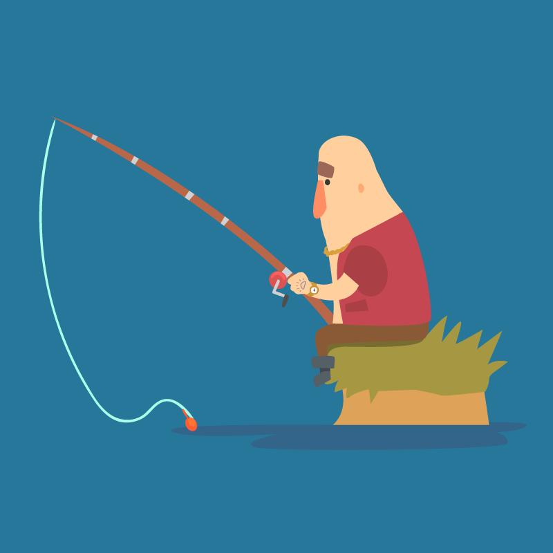 Анекдот про нового русского нарыбалке иего «волшебный» улов