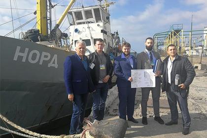 Изъятый Украиной российский сейнер «Норд» выставят на аукцион