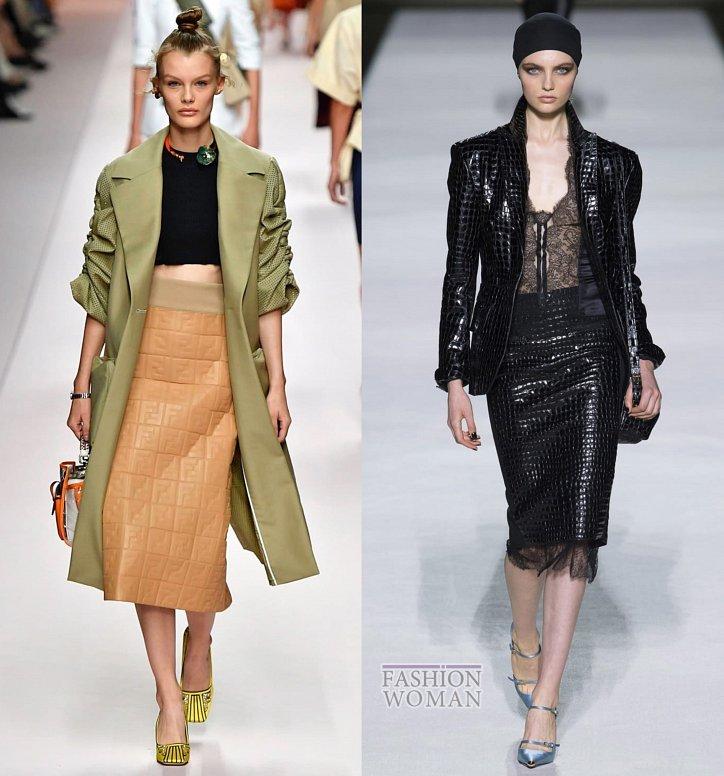 Модные юбки весна-лето 2019 фото №32