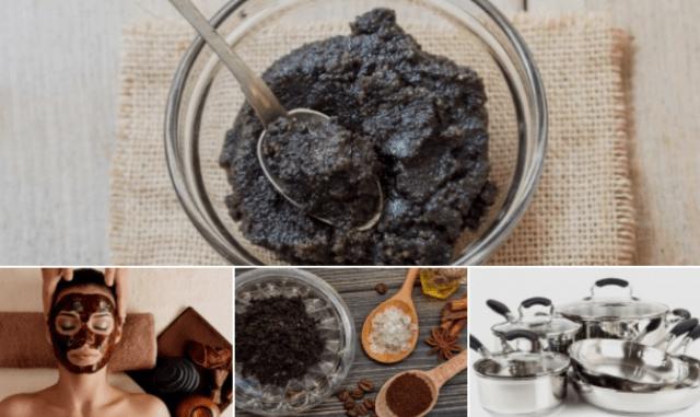 5 способов использования кофейного жмыха