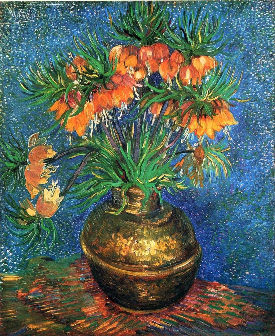 123 Fritillaries in a Copper Vase.jpg