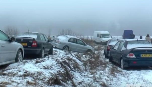 """""""Мы не превратим себя в мусорник"""" жители словацкого села возмущены ордой побросавших авто украинцев"""