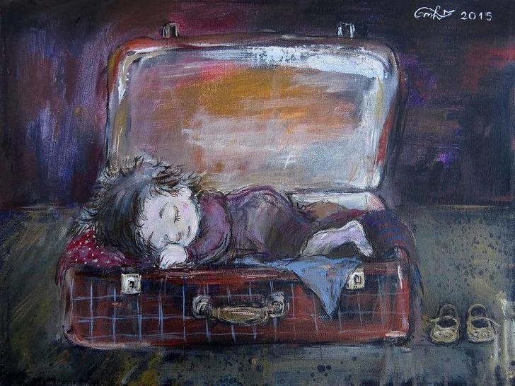 20картин художницы Нино Чакветадзе, откоторых становится тепло иуютно надуше