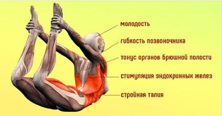 «Поза лука» и еще 5 упражнен…