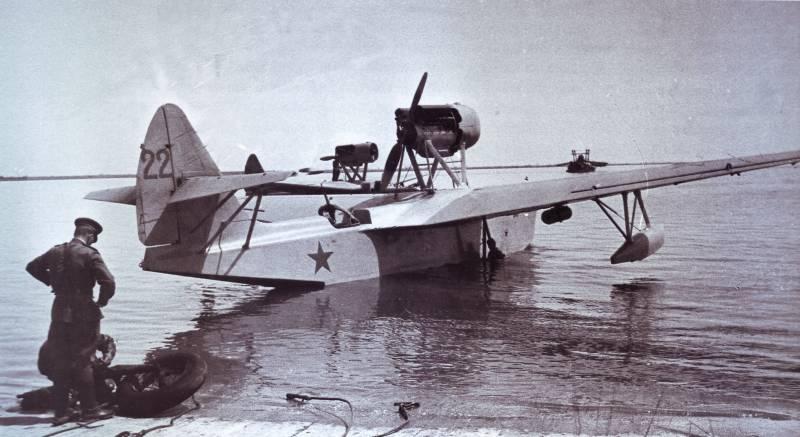 Боевое применение гидросамолётов МБР-2 при обороне советского Заполярья
