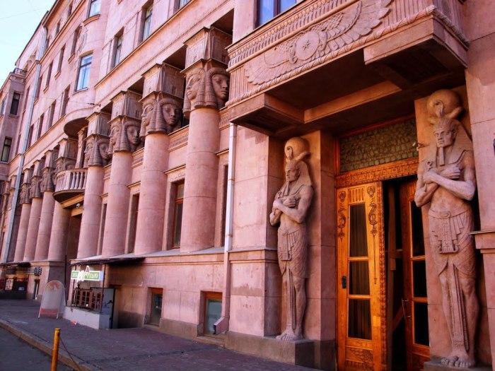 Египетский дом на Захарьевской.