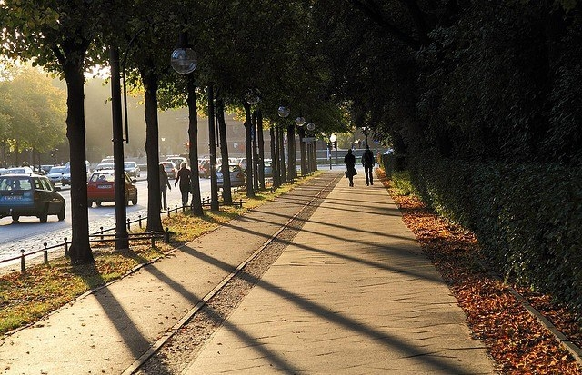 Парк Большой Тиргартенв в Берлине