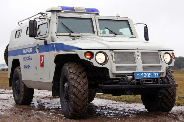 Самые крутые полицейские автомобили