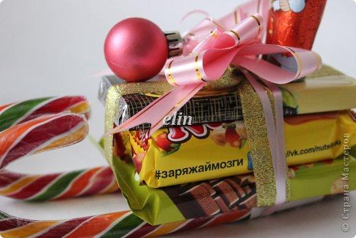 Мастер-класс Свит-дизайн Упаковка Новый год Разные сладкие работы Бумага Материал оберточный Проволока Продукты пищевые фото 4