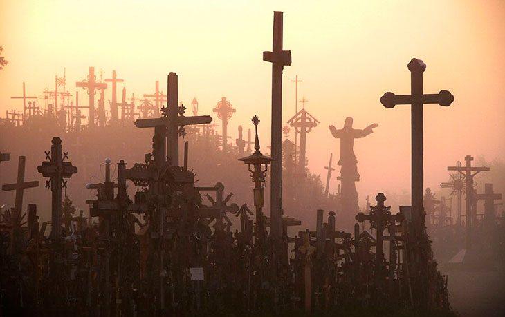 Гора Крестов, полная тайн