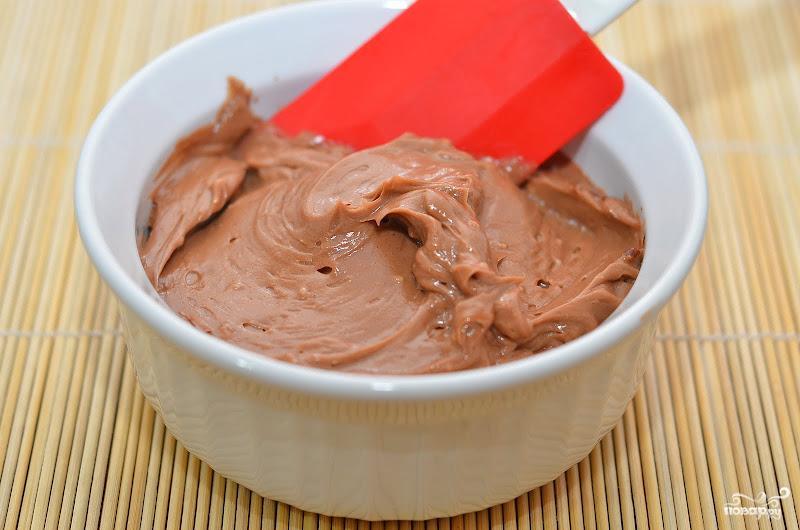 Шоколадно-масляный крем для тортов