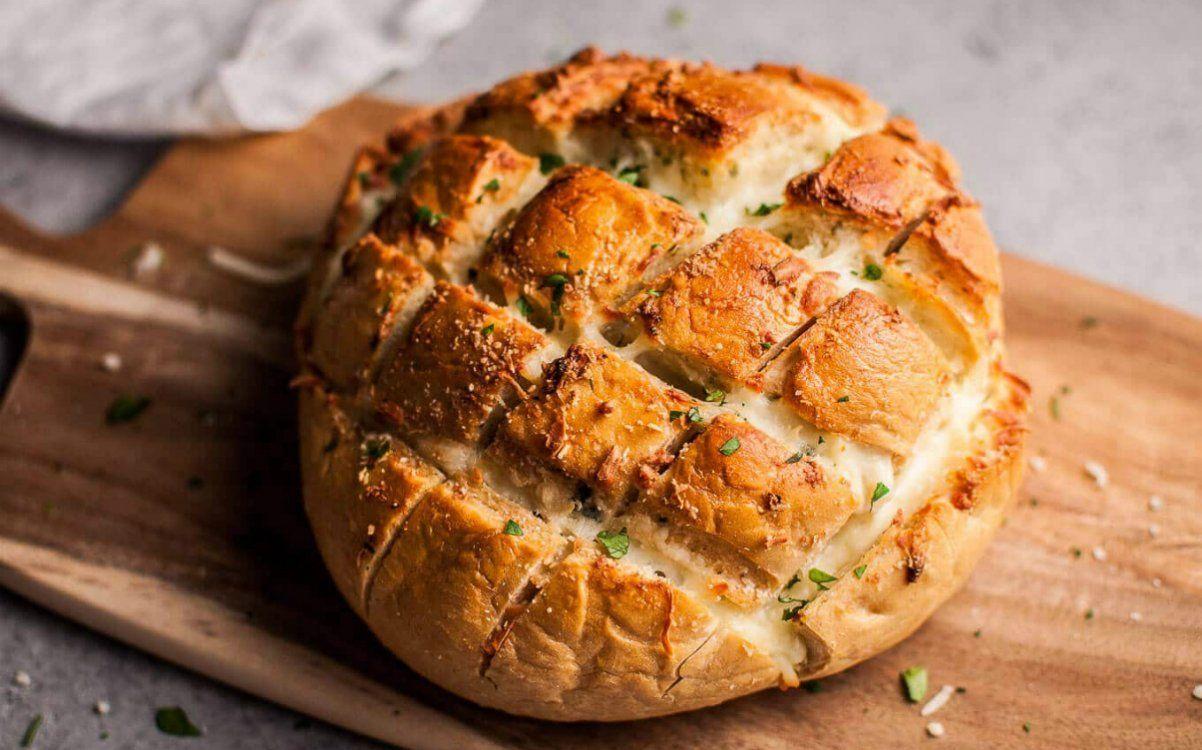 Закуска из хлеба с сыром - лучший дачный перекус!