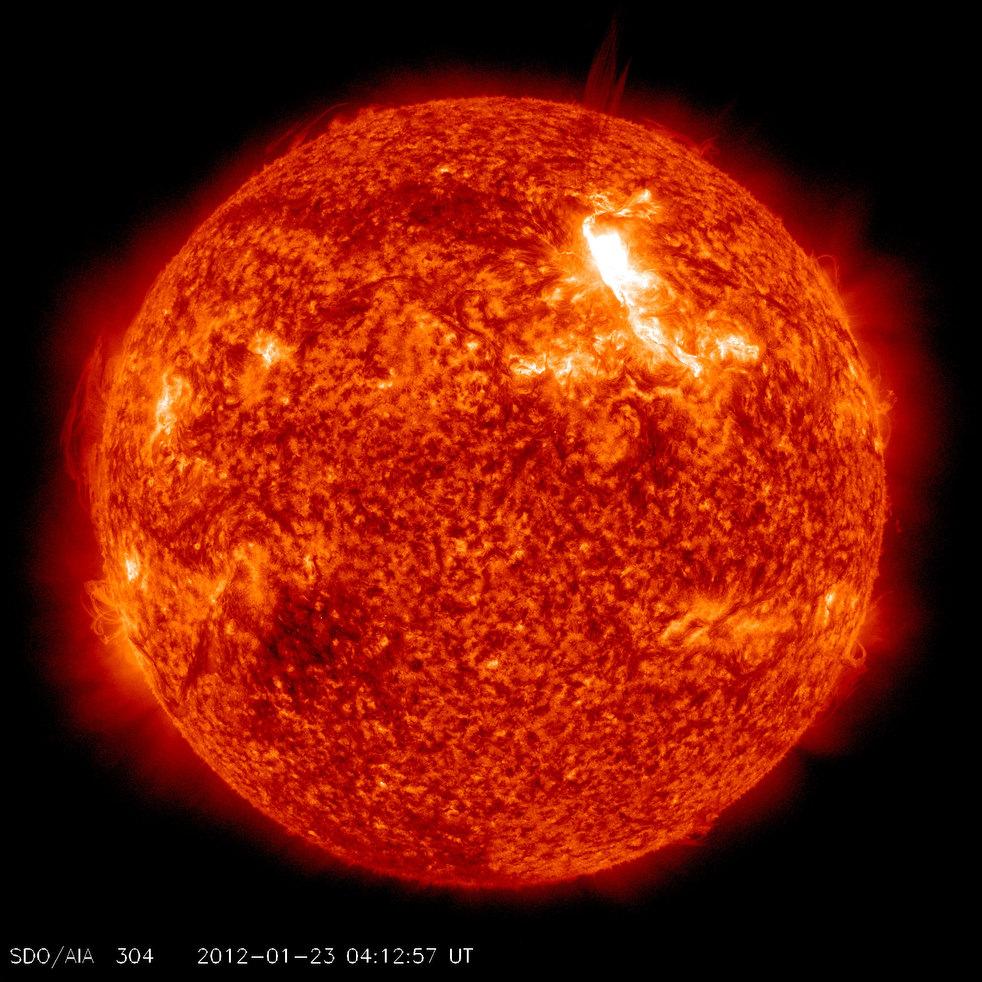 4159 Сильнейшая вспышка на солнце с 2005 года