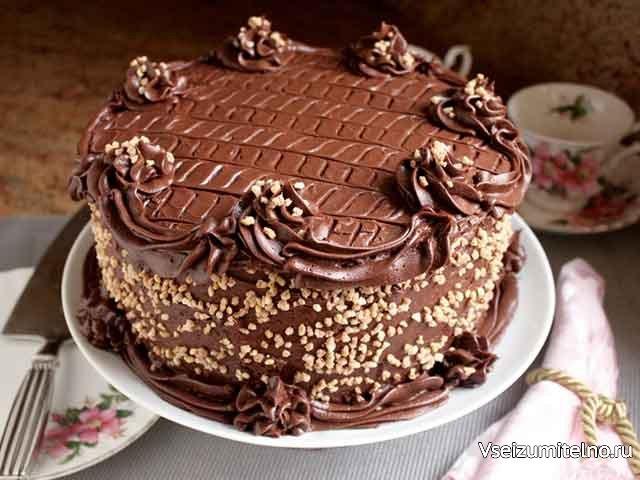 Шоколадный торт с сюрпризом