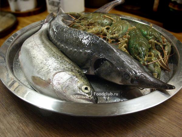 Ботвинья с рыбой и раками (этап 3)