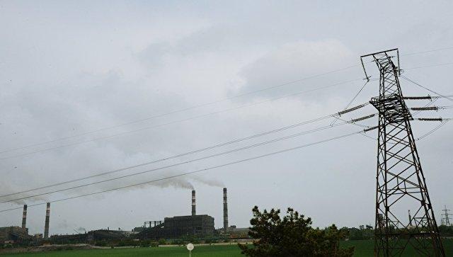Украина с 25 апреля перестанет поставлять электричество в ЛНР