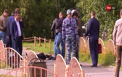 Ликвидация террориста в Сургуте попала на видео