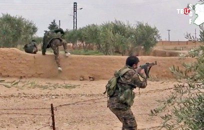 Группа боевиков сдалась властям в сирийской провинции Алеппо