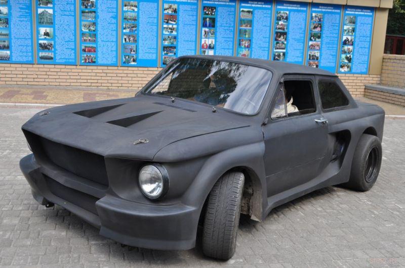"""""""Запорожец"""" ЗАЗ 968 стилизованный под мустанг"""