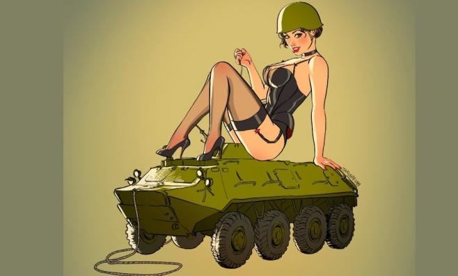 россиянок в стиле пин-ап рисует заграницей ярославец
