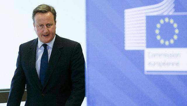 """Не царское дело: Кэмерон заявил, что Британия уведомит ЕС о выходе, """"когда это будет нужно"""""""