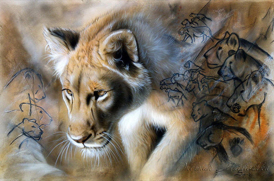 Awesome realistic drawings of animals 03