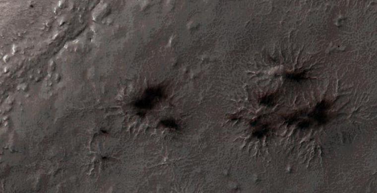 «Диванные» астрономы помогли ученым найти марсианских «пауков»