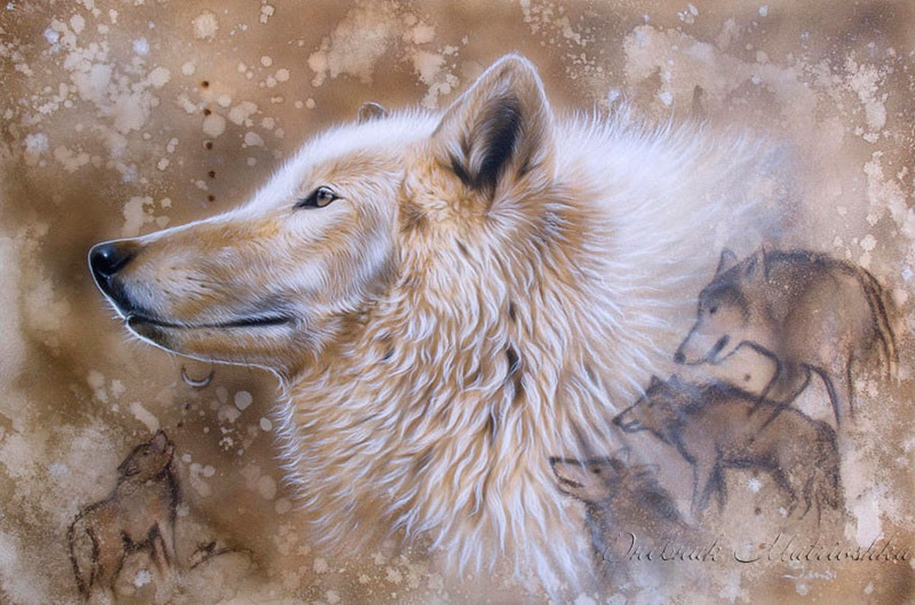 Awesome realistic drawings of animals 06