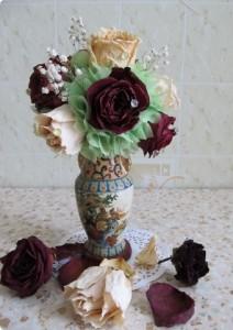 Несколько способов засушивания цветов