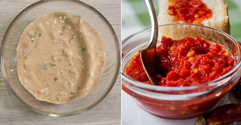 как приготовить соус с аджикой