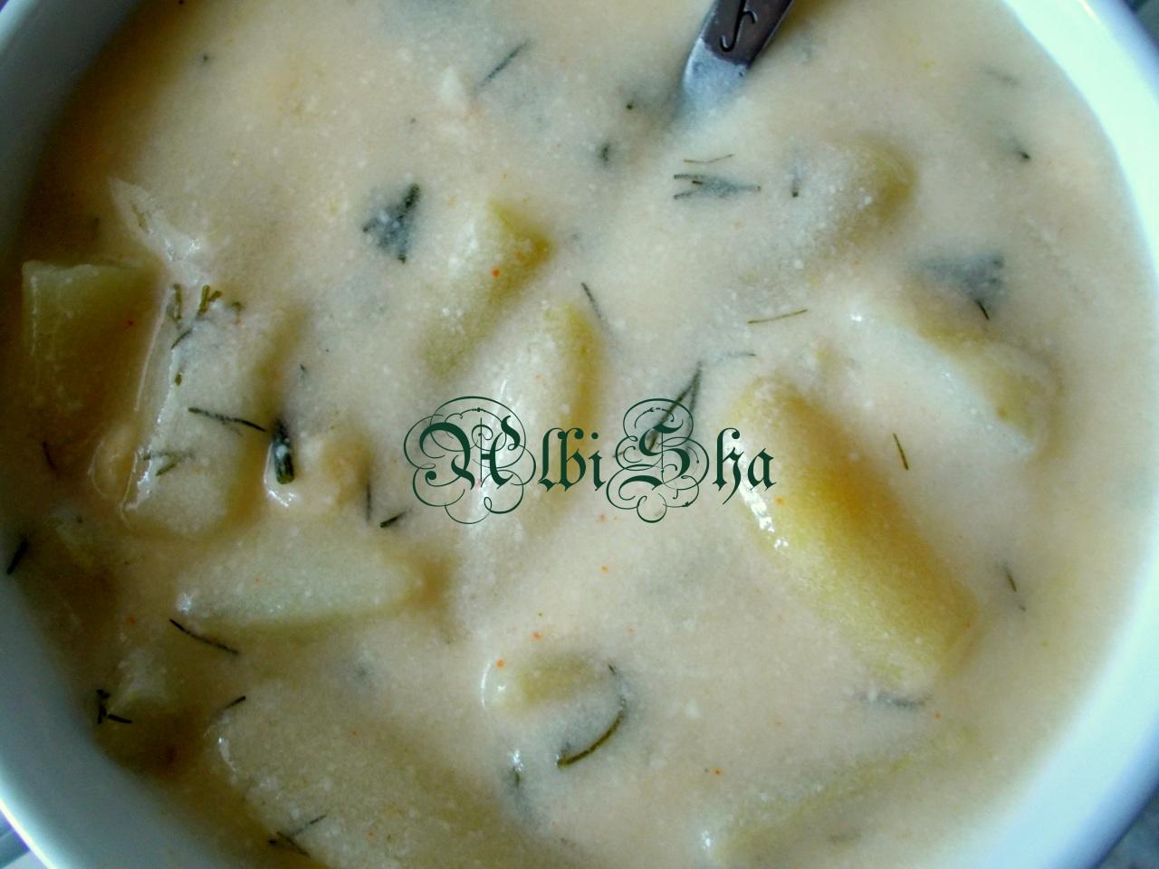 Суп сметанный пошаговый рецепт