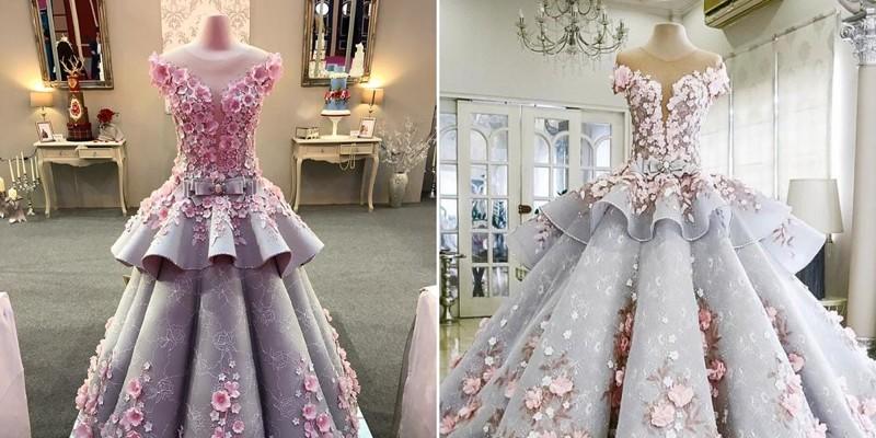 Этот свадебный торт выглядит чуть ли не лучше, чем настоящее платье невесты
