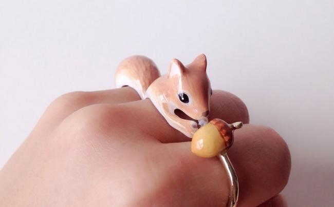 Эти крутейшие кольца превращаются в животных прямо на пальцах