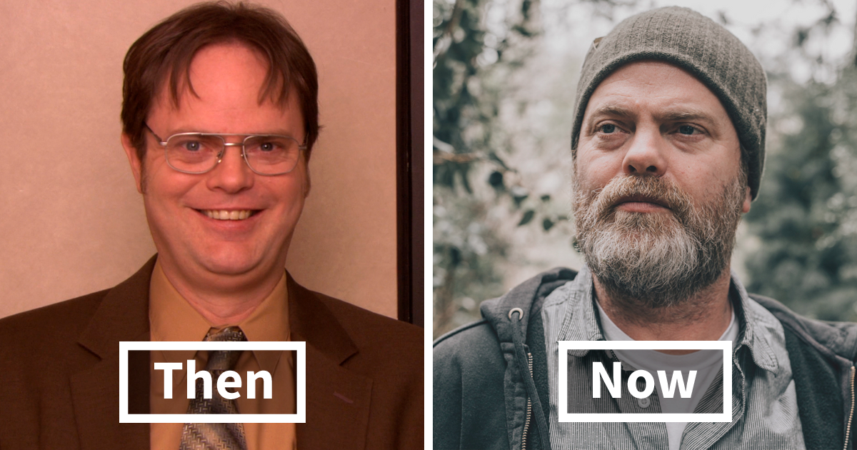 10 Year Challenge, 'The Office' Edition