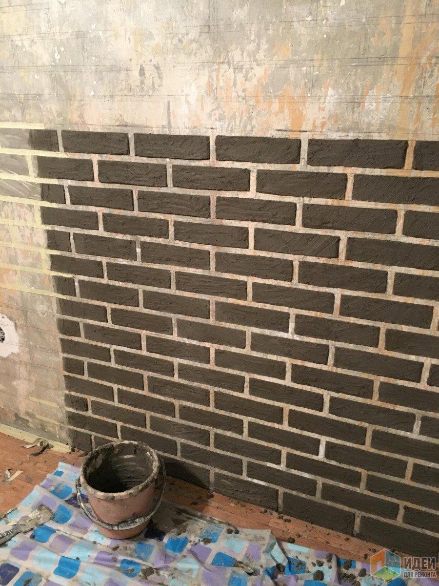 Кирпичная кладка на стене своими руками