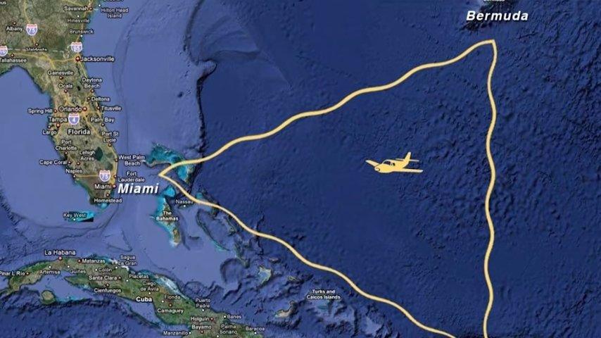 Американские ученые раскрыли тайну Бермудского треугольника