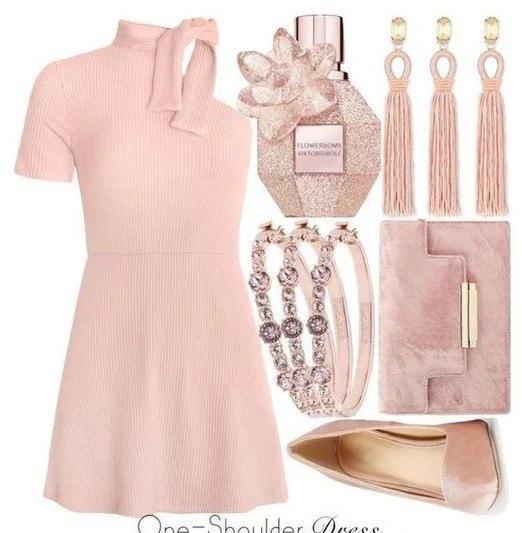 Розовое платье: женственность в любом возрасте