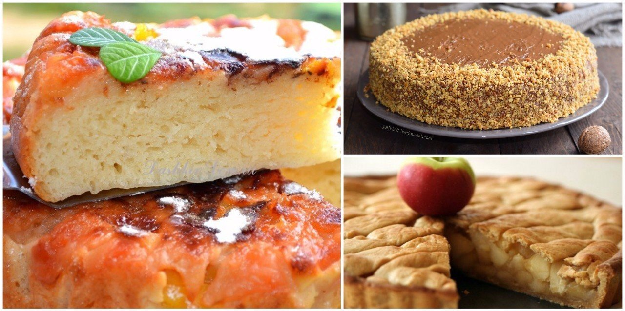 Подборка рецептов пирогов в мультиварке