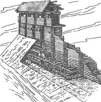 Деревянно-земляные укрепления. Белгород (реконструкция)