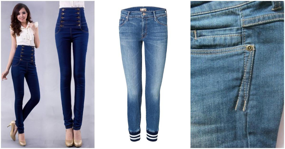 Переделка джинсов: даже размер изменить — не проблема!